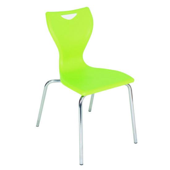 EN Series Chrome Frame Poly Chair