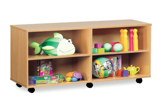Shelf Unit with Central Divider