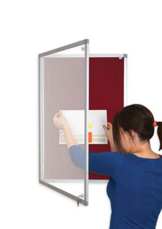 Lockable Display Boards - New Lower Prices