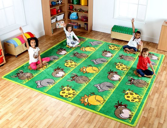 Zoo Placement Rug