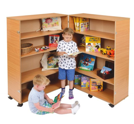 Tall Hinged Bookcase