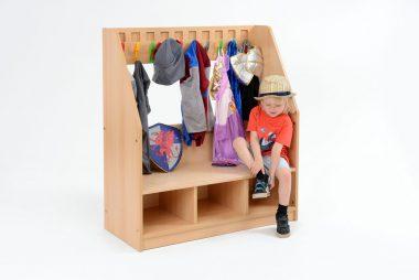 Wooden Infant Cloakroom