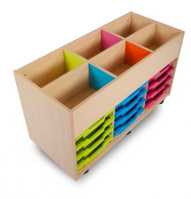 Bubblegum Kinderbox with Shallow Trays