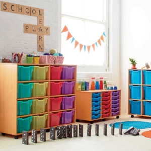 Classroom furniture and storage