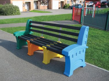 Coloured Bench Seats