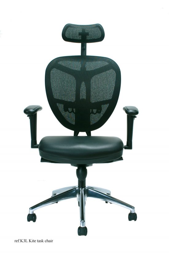 Contemporary Mesh Back Task Chairs