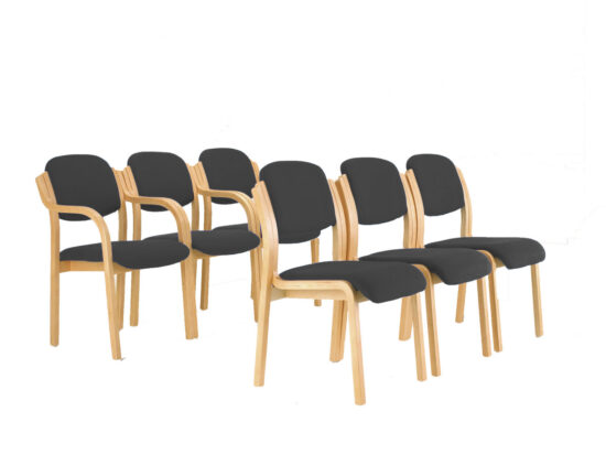 Conference Wood Frame Chair