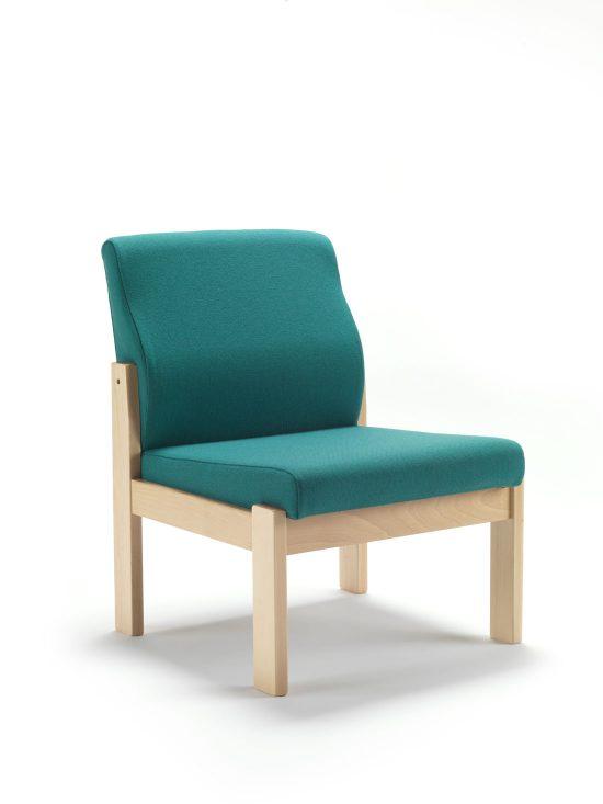 beech frame reception chair