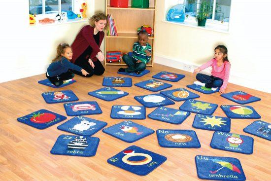 Alphabet Mini Carpet Set of 26
