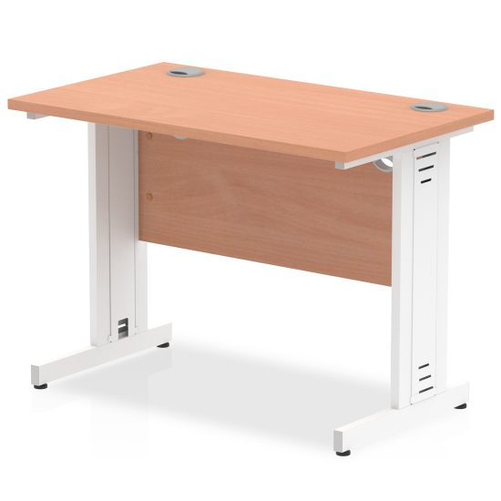 Dfe Cable Managed Narrow Desk