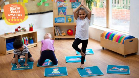 Yoga Position Mini Placement Carpets