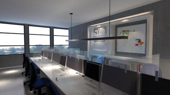 Clear Acrylic Desktop Screen Toppers