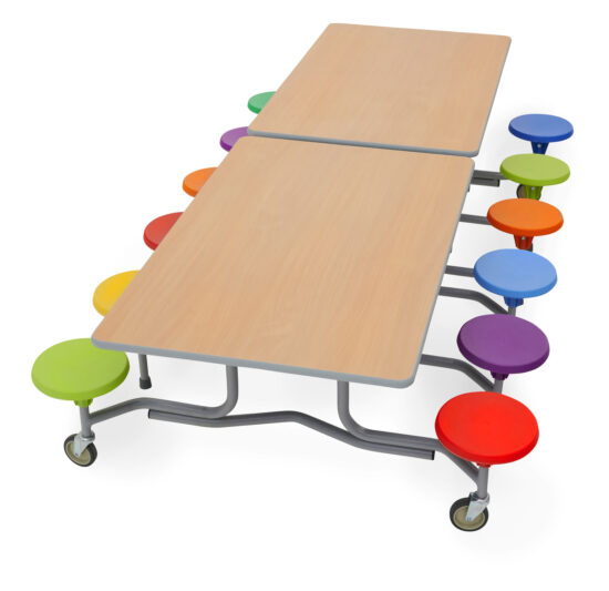 Early Years 12 Seater Table Seating Unit