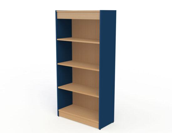 Coloured Panel Bookcases