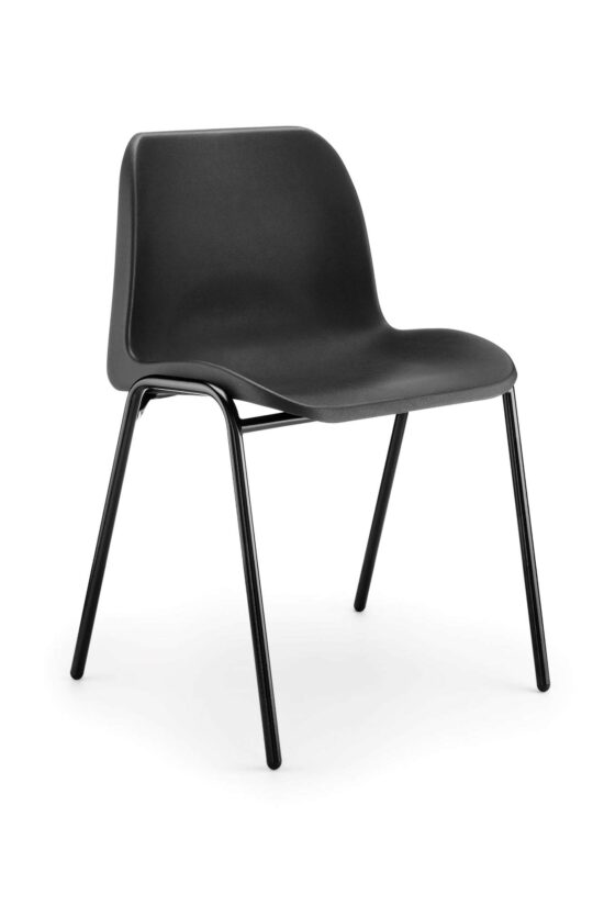 ECO Budget Poly Chair – Black