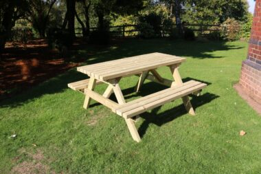 Heavy Duty Timber Picnic Benches