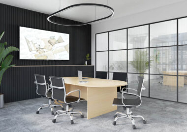 Fraction Panel Base Meeting Tables