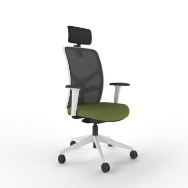 Deluxe Mesh Back Task Chair with Headrest